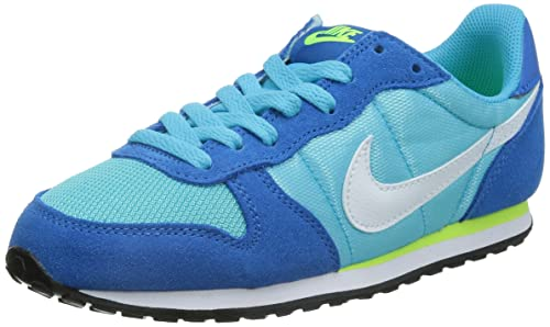 Nike Genicco - Zapatillas Deportivas para Mujer, Color Azul/Blanco/Lima, Talla 40: Amazon.es: Zapatos y complementos
