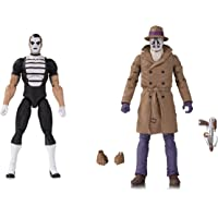 DC Collectibles Doomsday Clock: Rorschach/Mime Action Figure Two Pack