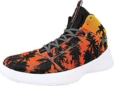 size 40 d2666 3b450 Nike Men s Hyperfr3Sh Qs Laser Orange Dark Grey Ankle-High Fashion Sneaker  - 9M