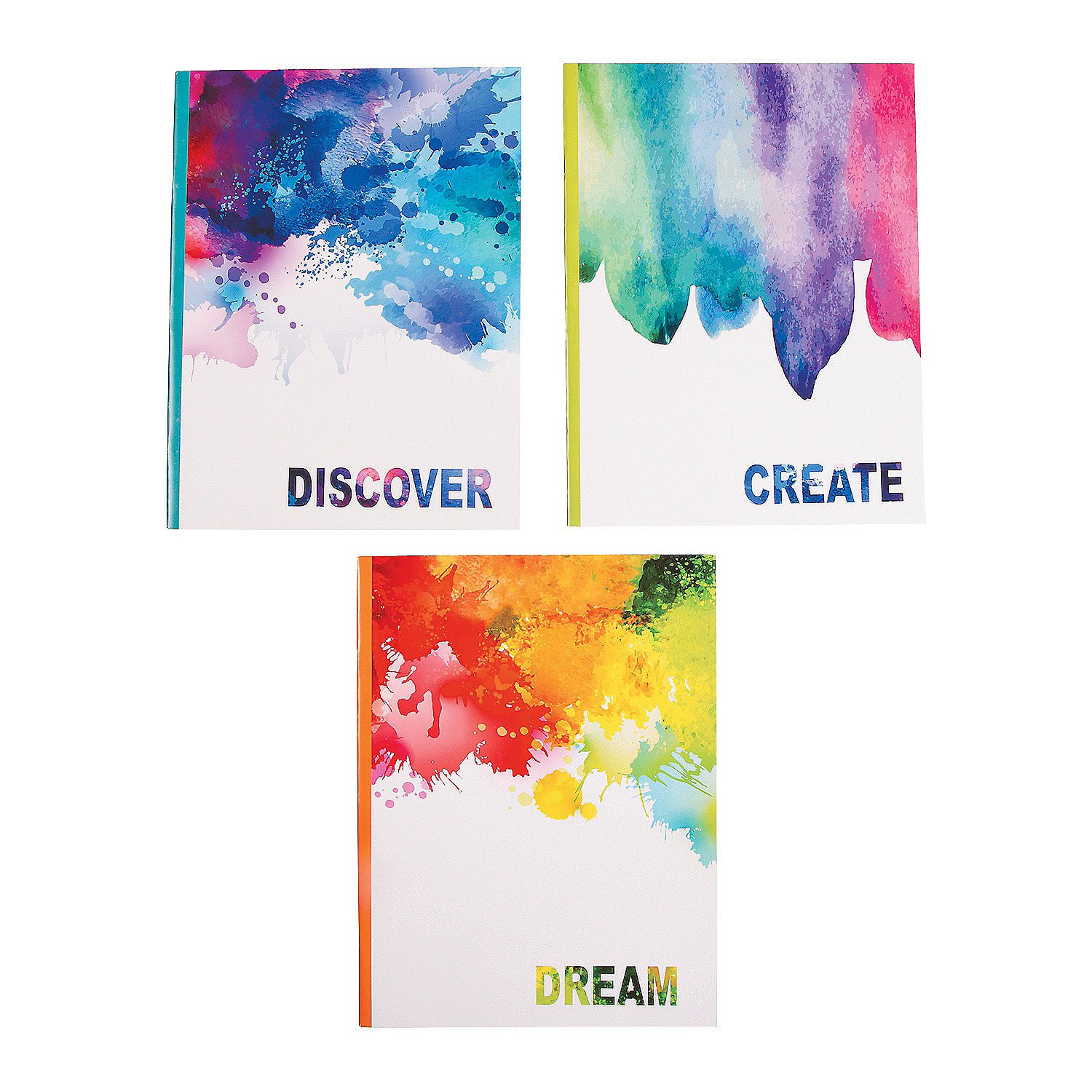 Fun Express - Watercolor Journals - Stationery - Notepads - Notepads - 24 Pieces