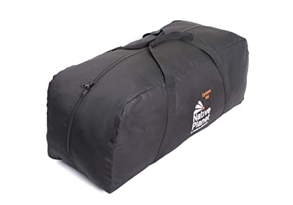 a2ffc9bee798 Image Unavailable. Image not available for. Colour  Native Planet Foldable  Cyclone Travel Duffle Bag Highly Durable - Black-160L