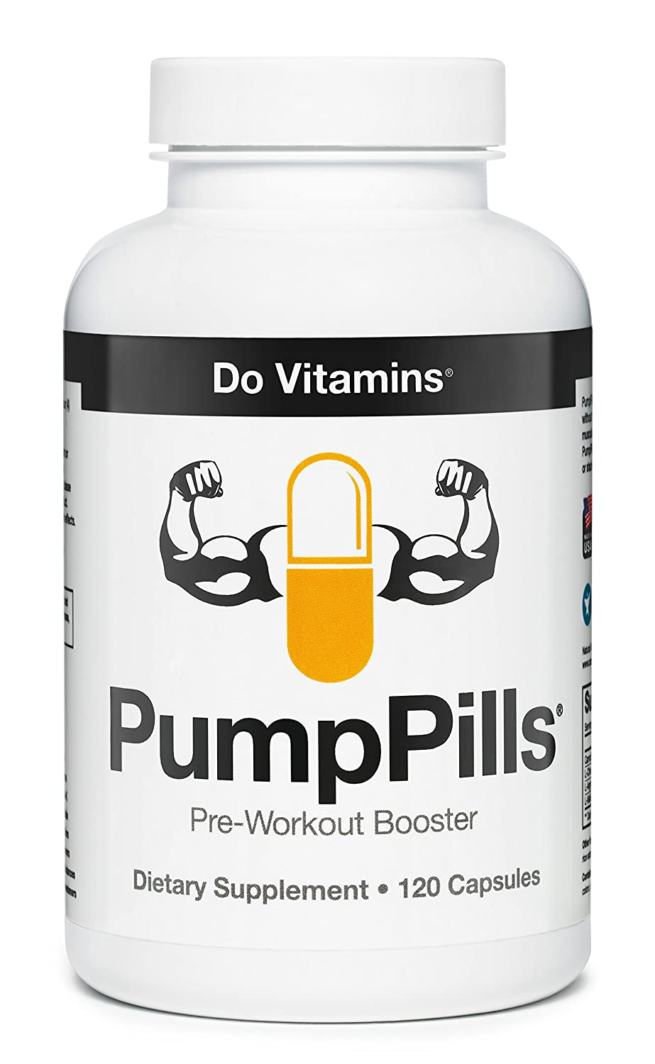 7. DOVitamins PumpPills - Nitric Oxide Booster