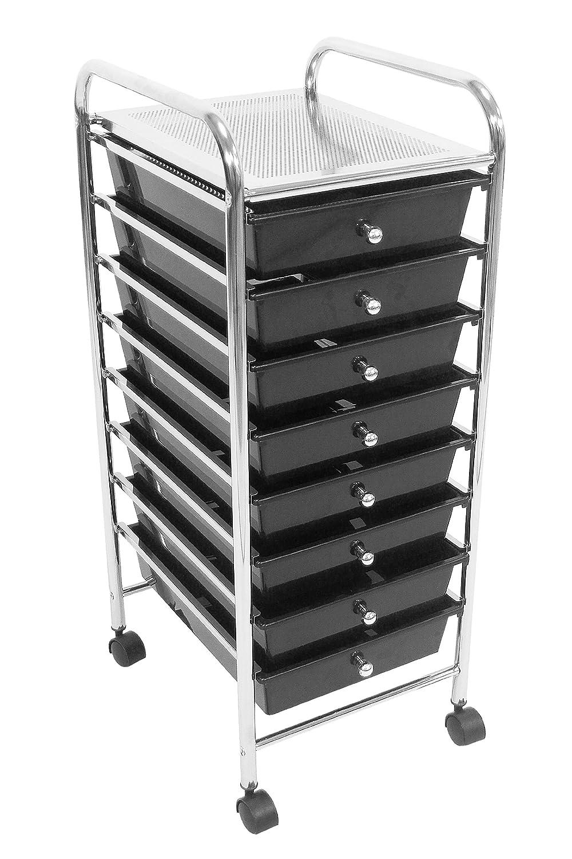 Premier Housewares - Carrito con 8 cajones (83 x 33 x 39 cm): Amazon ...