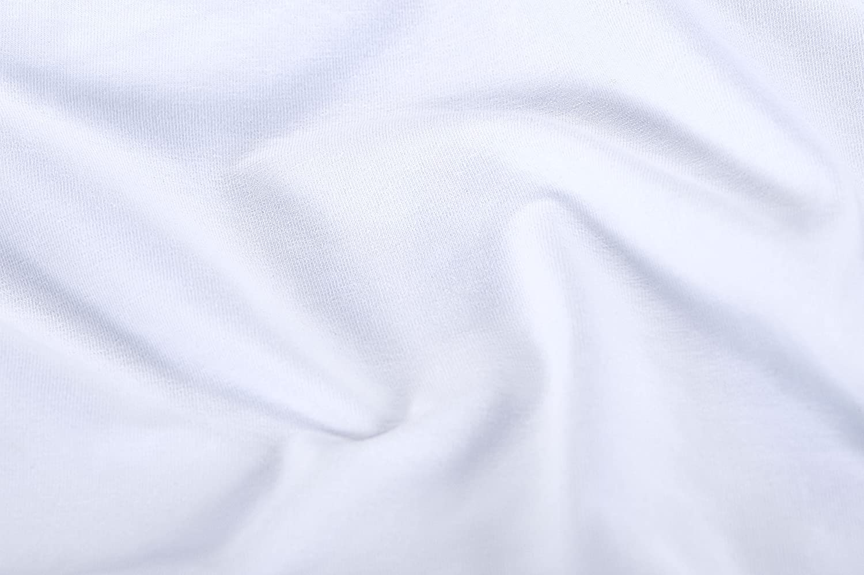 Nat/ürlich Antiallergen Glatter Simba Spannbetttuch Weicher Jersey 80 x 200 cm