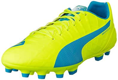 lowest price f3a84 9e4af Puma Evospeed 4.4 AG, Chaussures de Football Homme, Jaune-Gelb (Safety  Yellow