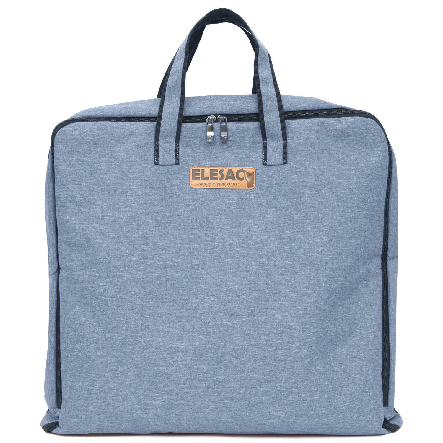 ELESAC Foldable Garment Bag,Clothing Suit Dance w/Pockets,for Business Travel