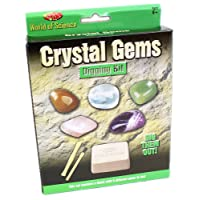 World Of Science Crystal Gems Digging Excavation Kit