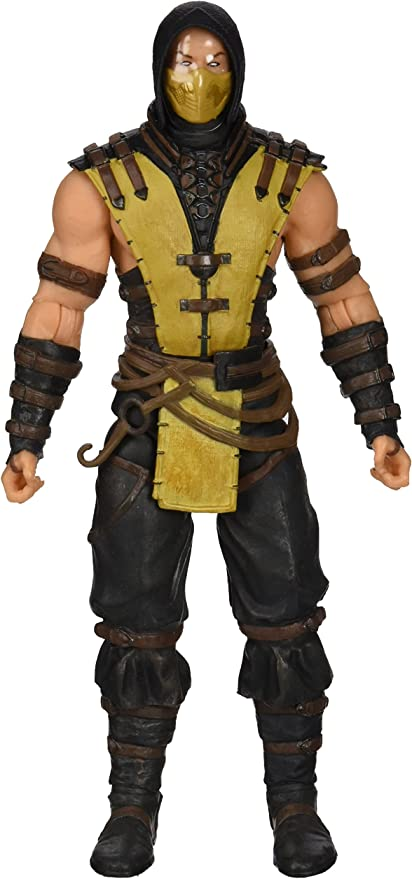 Amazon Com Mezco Toyz Mortal Kombat X Scorpion Figure Toys Games