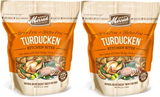 product image for MERRICK KITCHEN BITES DOG TREATS MADE IN USA 2 PACK 18 Ounces Total TURDUCKEN