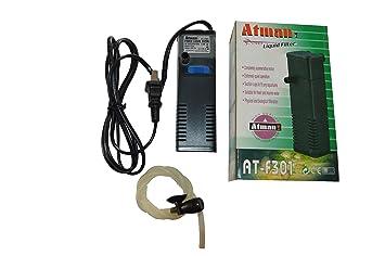 Buy Aqurium Fishtank Atman Power Liquid Filter At F301 101210009 Online At Low Prices In India Amazon In