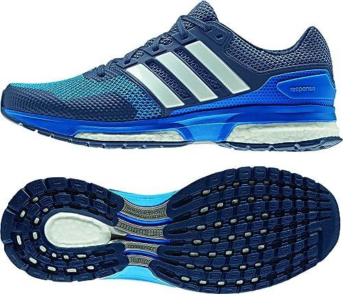 adidas Response 2 M, Chaussures de Running Homme, BlauWeiß