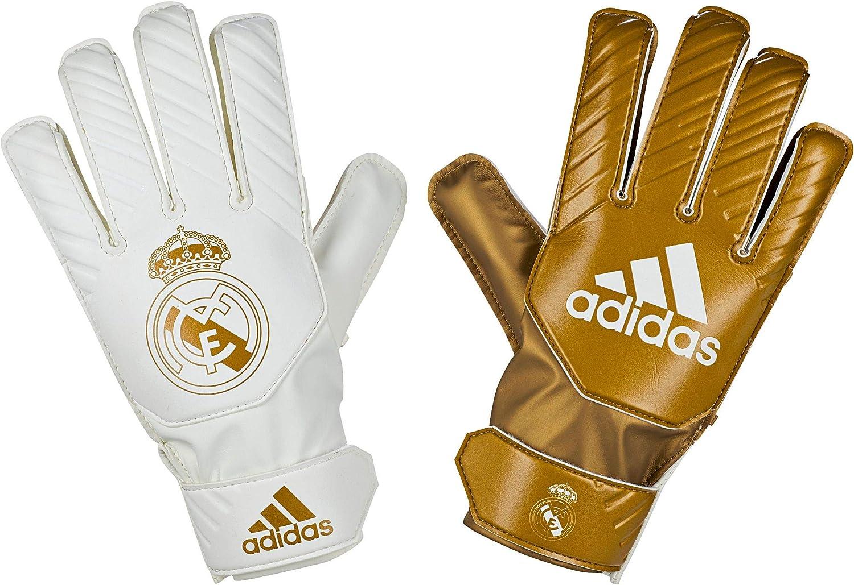 adidas Real Madrid 2019-2020 Niño, Guante de Portero, Gold Metallic-White: Amazon.es: Deportes y aire libre