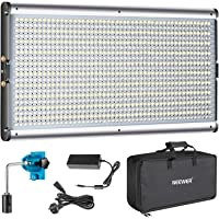 Neewer Dimmable Bi-Color LED Professional Video Light for Studio, YouTube Outdoor Video Photography Lighting Kit…