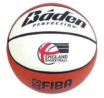 Baden Lexum - Pelota de Baloncesto para Interior (Talla 7), Color marrón y Beige