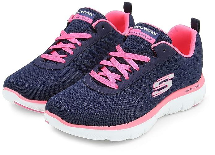 Zapatillas Skechers para dama modelo Flex Appeal 2.0 Break Free
