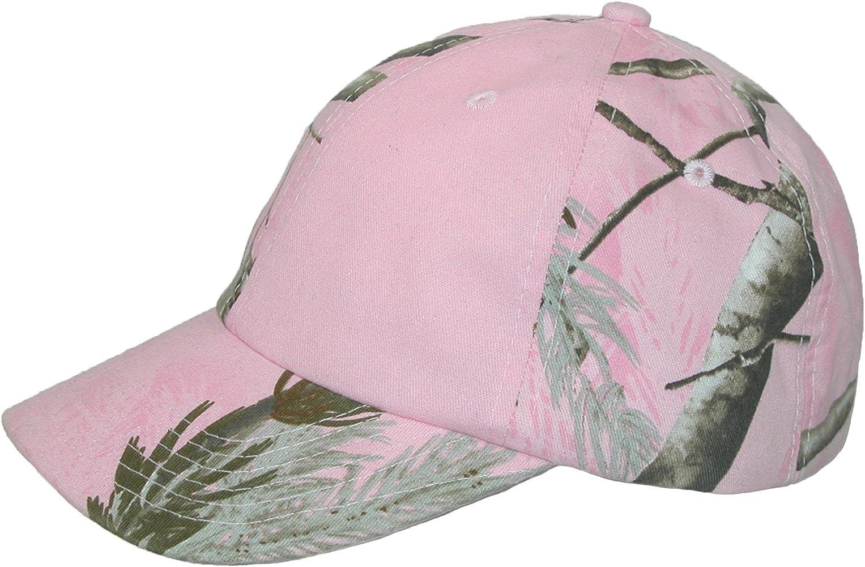 CTM - Gorra de béisbol - para mujer Rosa Pink Real Tree Talla ...