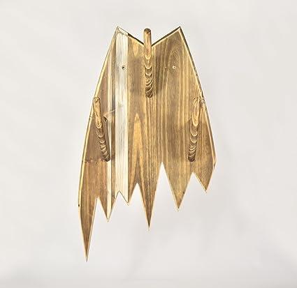 05 Art Deco. Perchero Tabla Rota Vintage: Amazon.es: Hogar