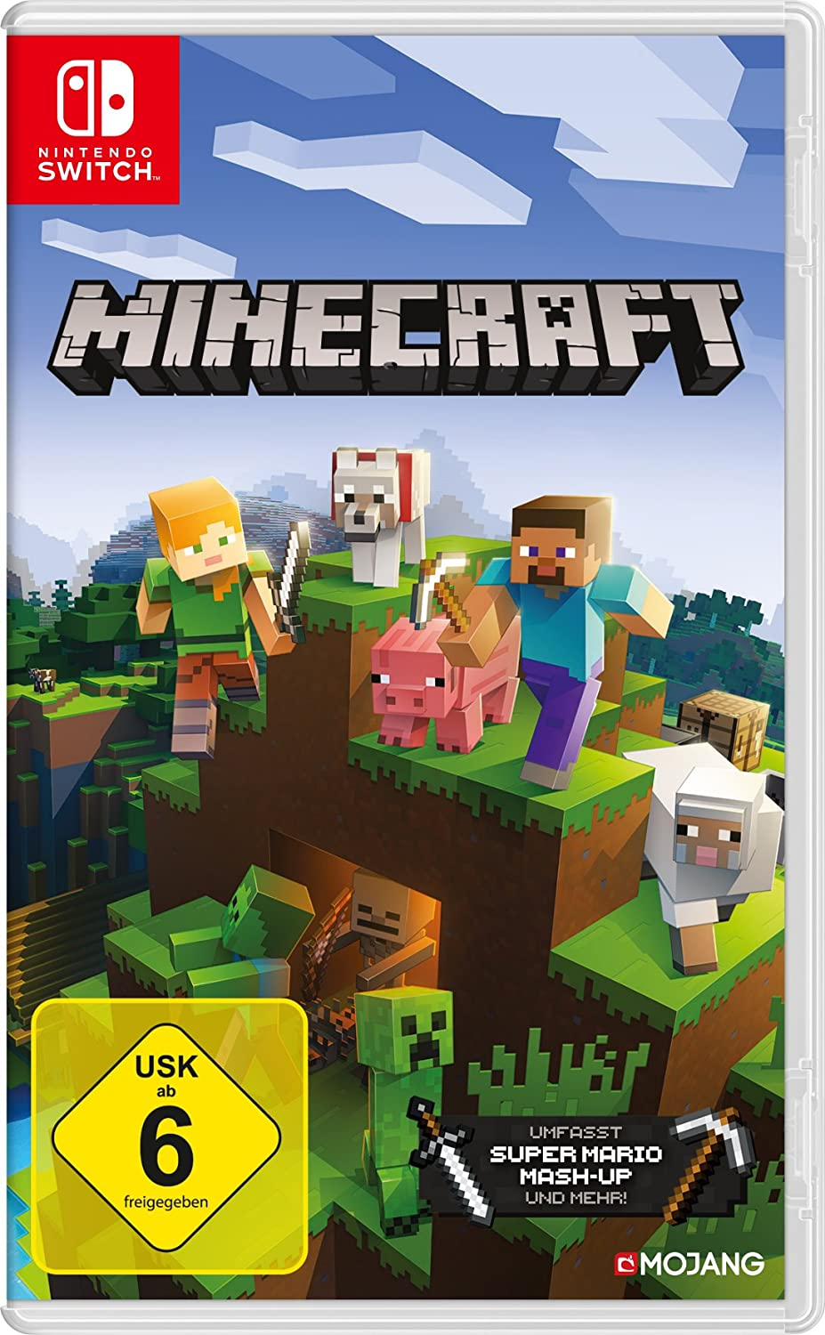 Minecraft Nintendo Switch Edition Nintendo Switch Amazonde Games - Minecraft spiele mit waffen