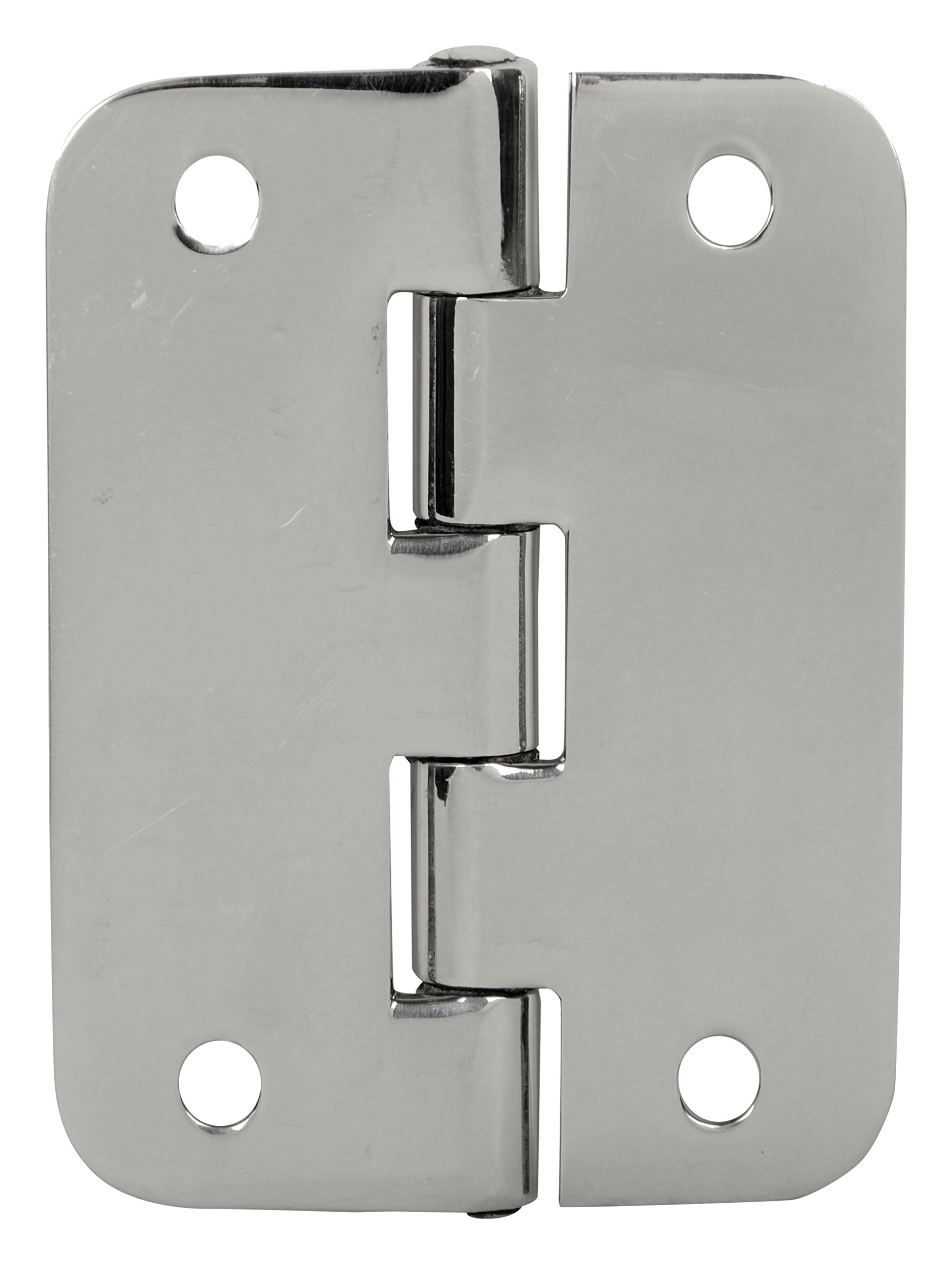 Cooler Hinge Set of 2 PCS Stainless Steel Bright Mirror Polished Life TIME Durable ICE Chest Replacement Hinge 8 pcs Stainless Steel Screws) by SS iSKCON (Image #6)