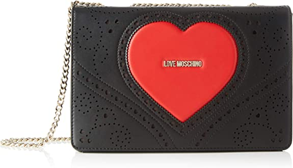 Love Moschino borsa a tracolla biancorosso PE20: Amazon.it