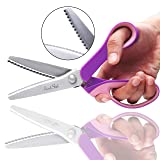 Pinking Shears for Fabric with Snipper - 9 inch
