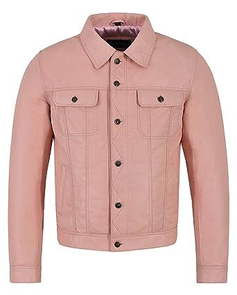 utterly stylish lowest price buy online Veste en Cuir véritable pour Hommes Napoléon Napa Classique ...