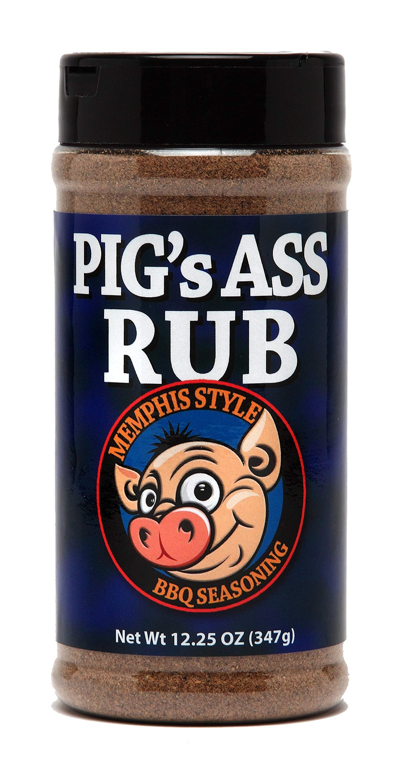 Amazon.com : Pig's Ass Rub Memphis Style BBQ Seasoning 12.25oz Bottle :  Grocery & Gourmet Food