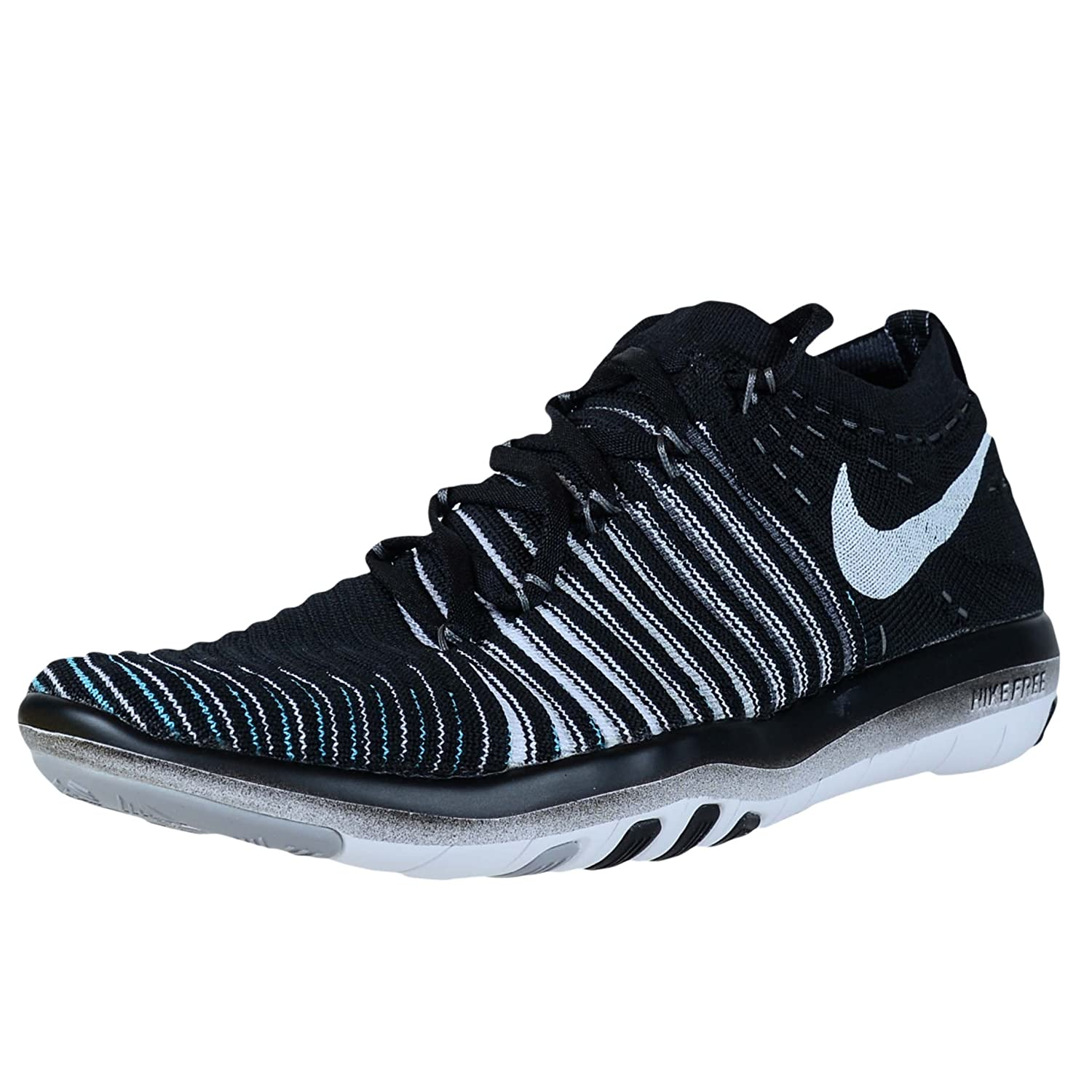 NIKE Womens Free Focus B014GN12WQ Flyknit Mesh Breathable Trainers B014GN12WQ Focus 10 B(M) US|Black/White-wolf Grey-dark Grey eef3f8
