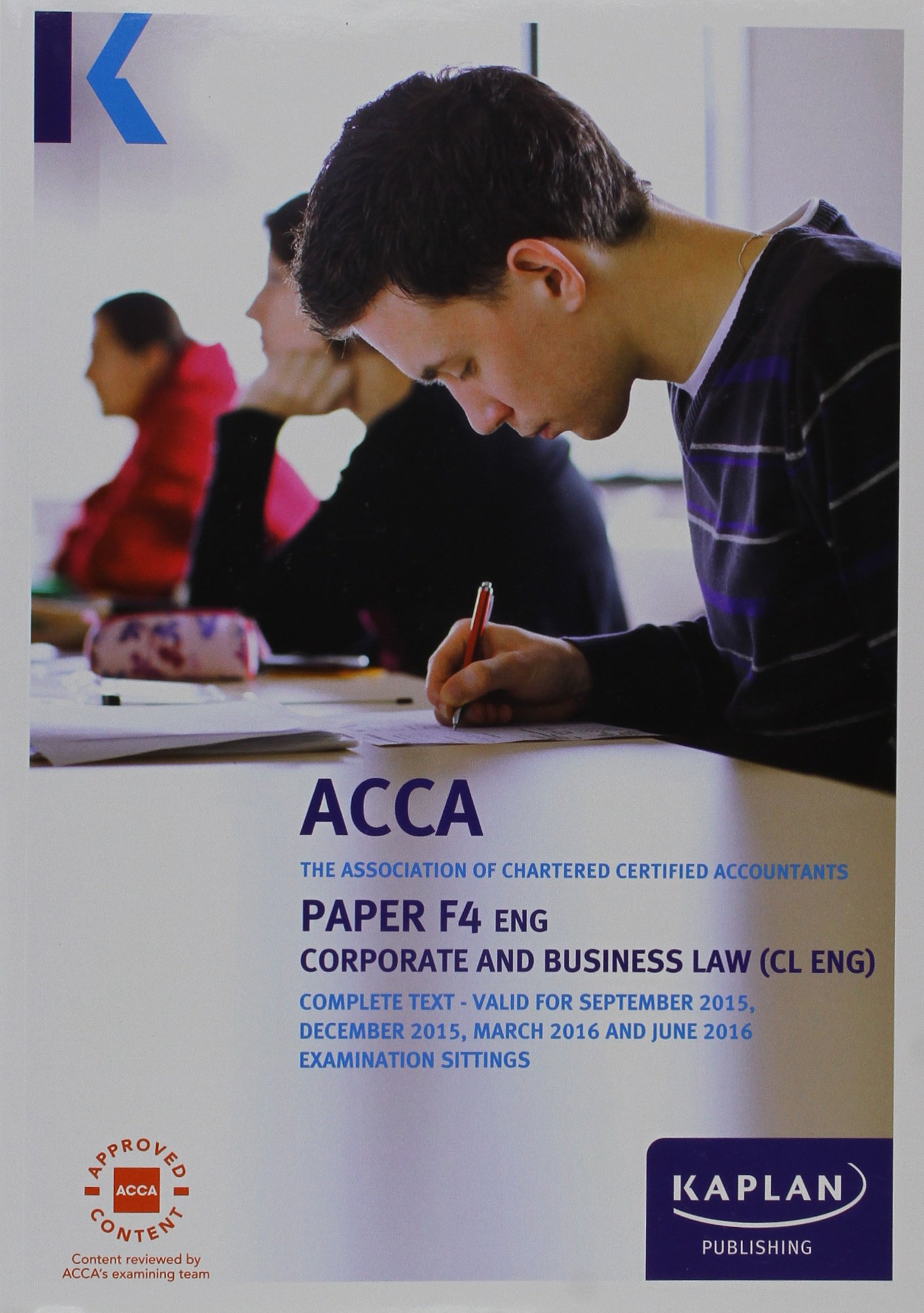 F4 Corporate And Business Law  UK  Complete Text  Acca Complete Texts