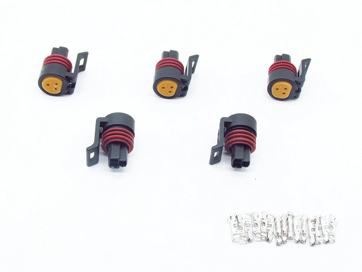CNKF 5 Sets Metri-Pack 150 Series 3 Position Female Connector with terminals 12078090 kaifa elec
