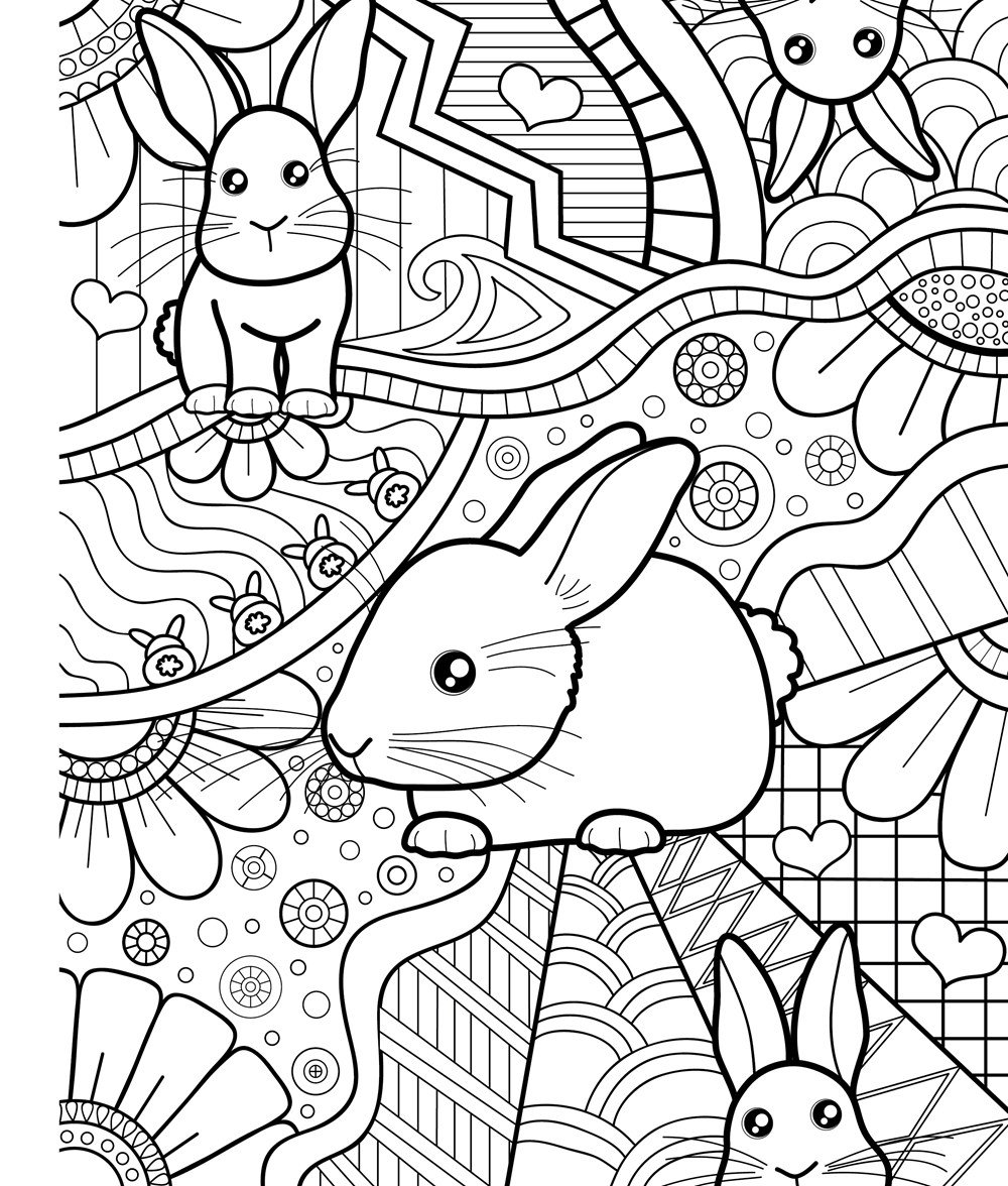 Zendoodle Coloring Baby Animals Adorable Critters To Color And Display Amazonca Jeanette Wummel Books