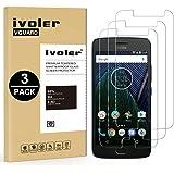 iVoler [3 Pack] Pellicola Vetro Temperato per Lenovo/Motorola Moto G5 Plus [Garanzia a Vita], Pellicola Protettiva, Protezione per Schermo
