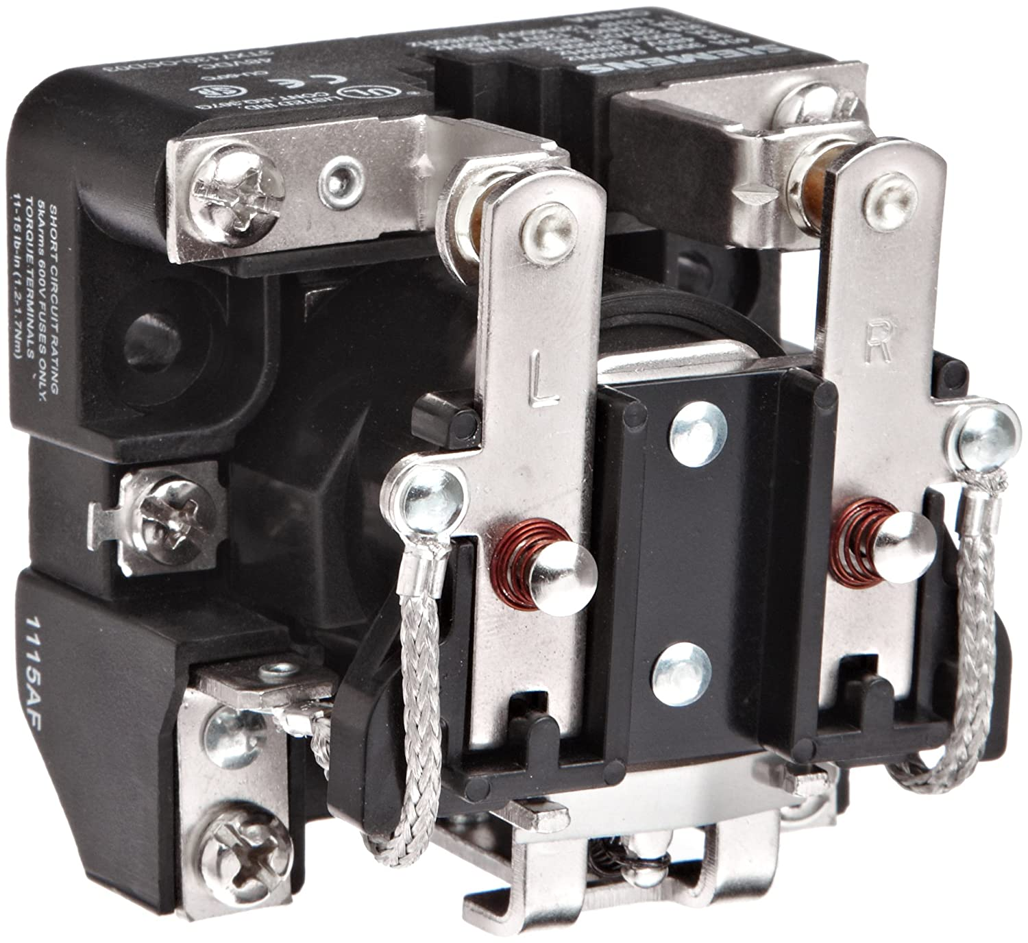 240VAC Coil Voltage Siemens 3TX7130-0DH13 Basic Plug In Open Power Relay 40A Contact Rating DPDT Contacts