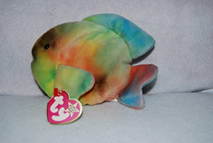 c7ea9d04b70 Image Unavailable. Image not available for. Color  TY Beanie Baby - CORAL  ...