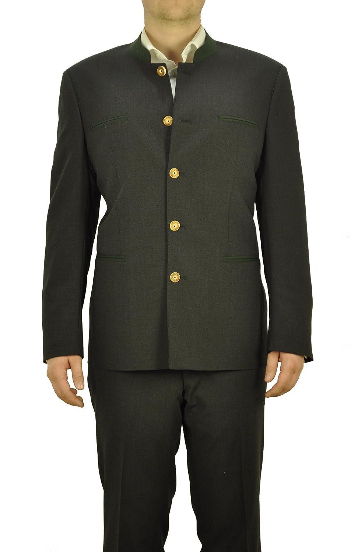 Herren Trachten Anzug aus Schurwolle, Marke Weis in der Farbe Anthrazit, Rottach/Egern (7026/7367-4/42/01)