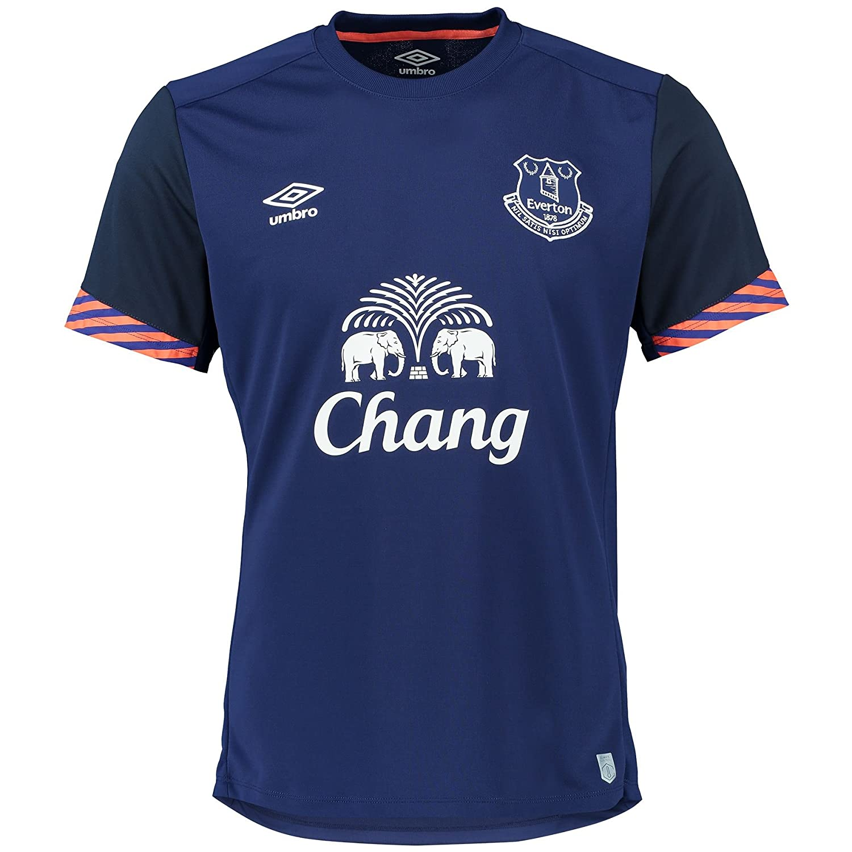 Black umbro t shirt - Umbro Everton Mens Training Graphic Jersey Top Football T Shirt Short Sleeve M Amazon Co Uk Clothing
