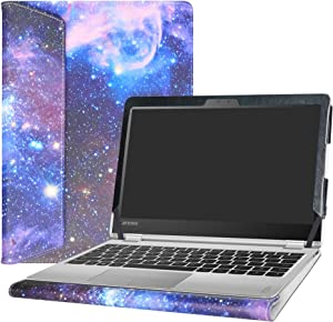 "Alapmk Protective Case Cover for 11.6"" Lenovo Yoga 710 11 710-11IKB 710-11ISK Laptop(Warning:Not fit Yoga 710 14 & 15.6/Yoga 720/Yoga 700/Yoga 730),Galaxy"