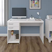Artany Ávila Desk with Drawers, White - W 120 cm x D 44 cm x H 75 cm, 7899805411790, 1