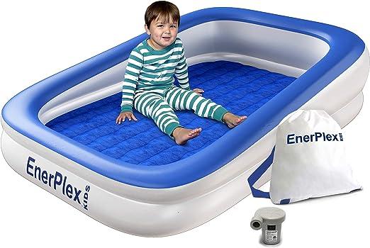 Amazon.com: EnerPlex - Cama hinchable de viaje para niños ...
