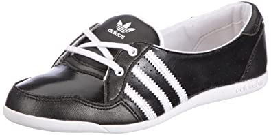 adidas Originals Forum Slipper K, Sandales fille Noir