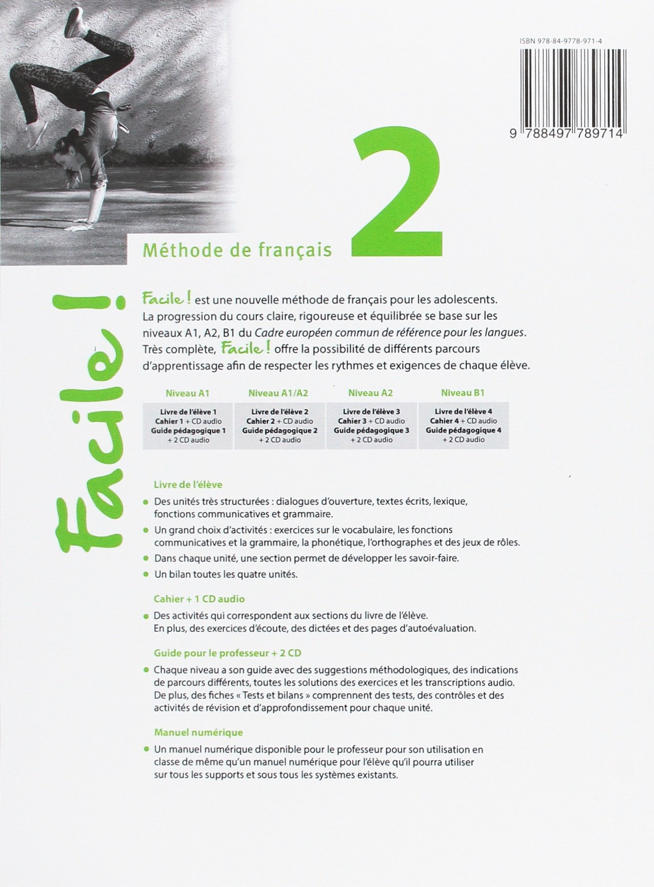 Facile 2 ejercicios: Anna Maria / Hatuel, Domitille Crimi ...
