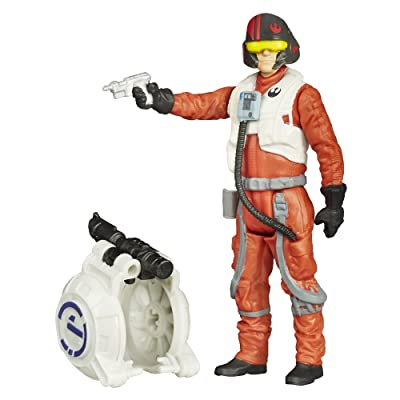 Star Wars The Force Awakens 3.75-Inch Figure Space Mission Poe Dameron: Toys & Games [5Bkhe0806187]