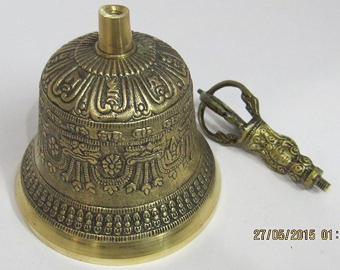 JMD Handicrafts Tibetan Buddhist Meditation Bell (6