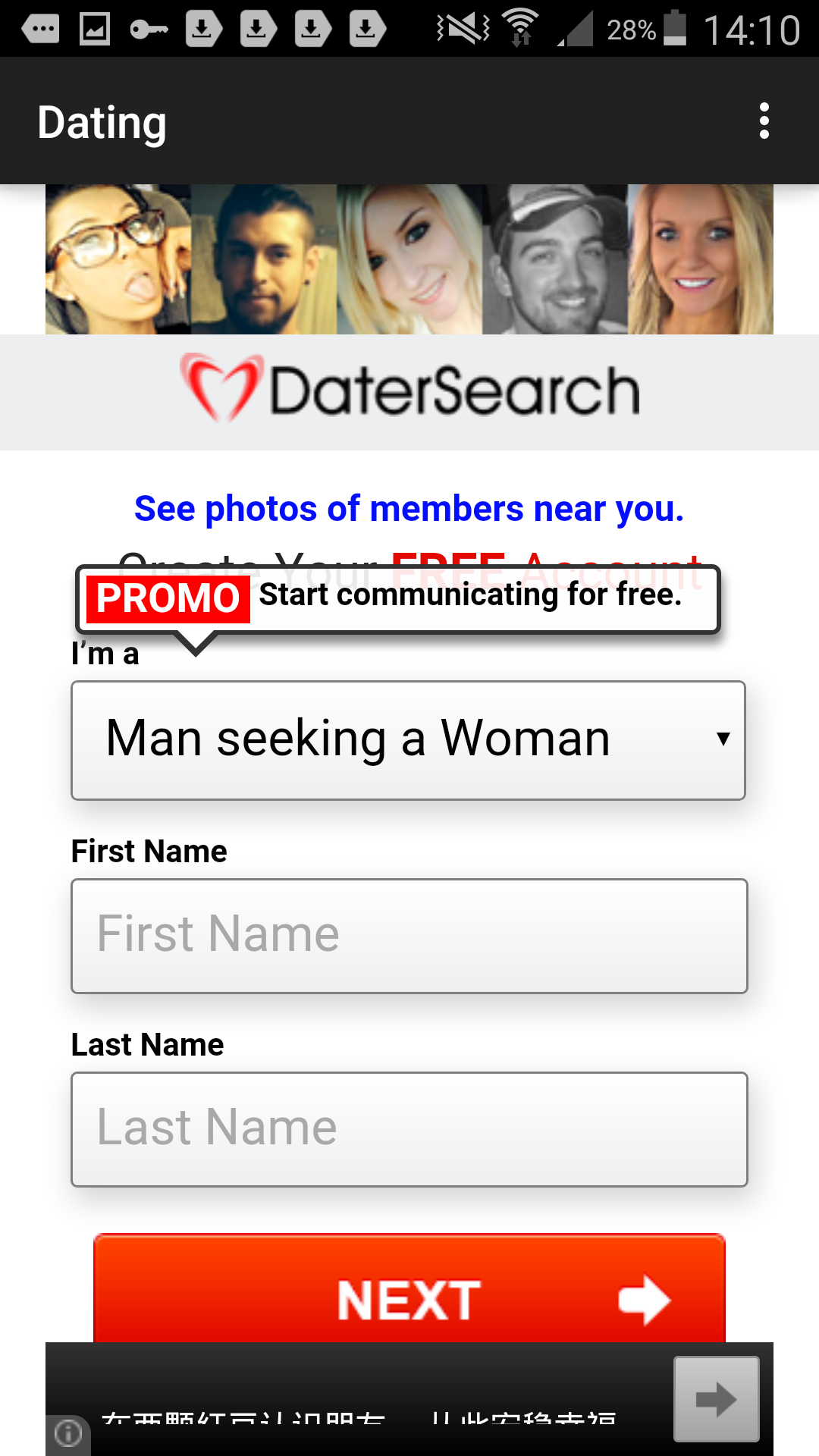 Best location based dating apps for android