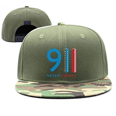 FJIAJGKGA Patriot Day 911 Memorial We Will Never Forget Relaxed Baseball Hats  Army-Green Caps 12f590738c7