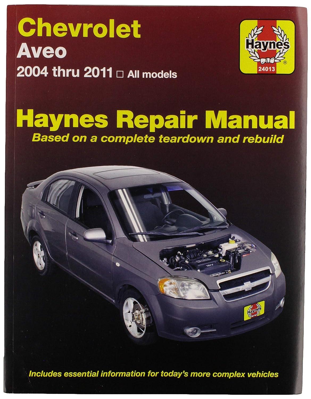 Repair manual fits 2004-2011 chevrolet aveo haynes | ebay.