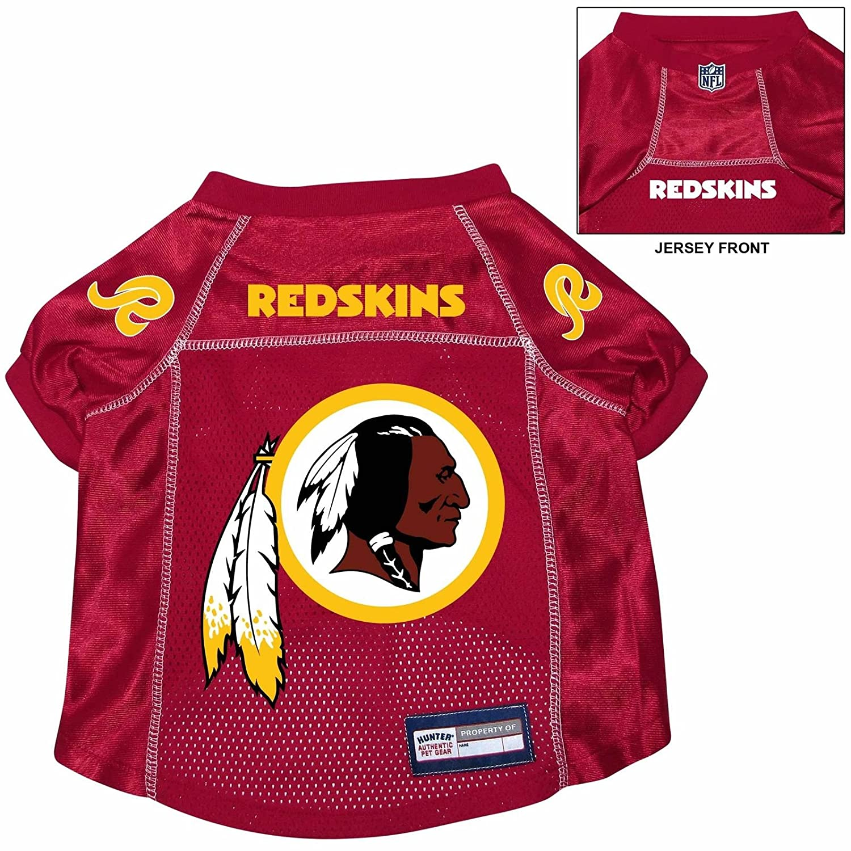 Washington Redskins Pet Dog Football Jersey Alternate LARGE