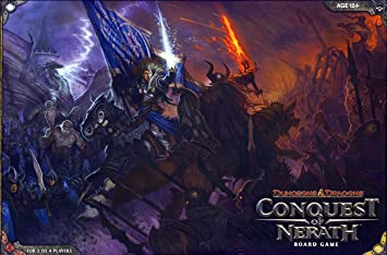 Amazon Com Conquest Of Nerath A D D Boardgame Wizards Rpg Team Toys Games