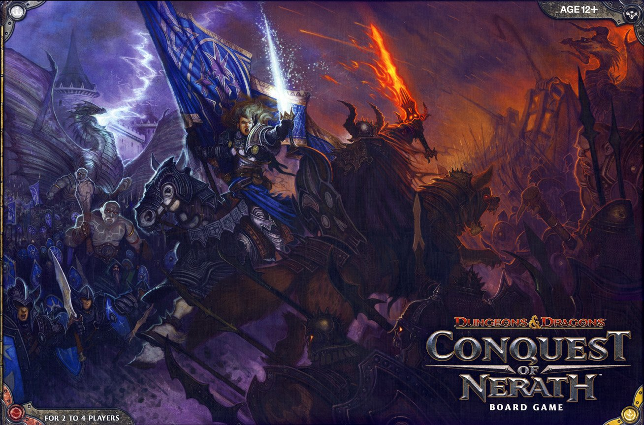 Wizards of the Coast 338060000 - Dungeons and Dragons - Conquest of Nerath, Brettspiel
