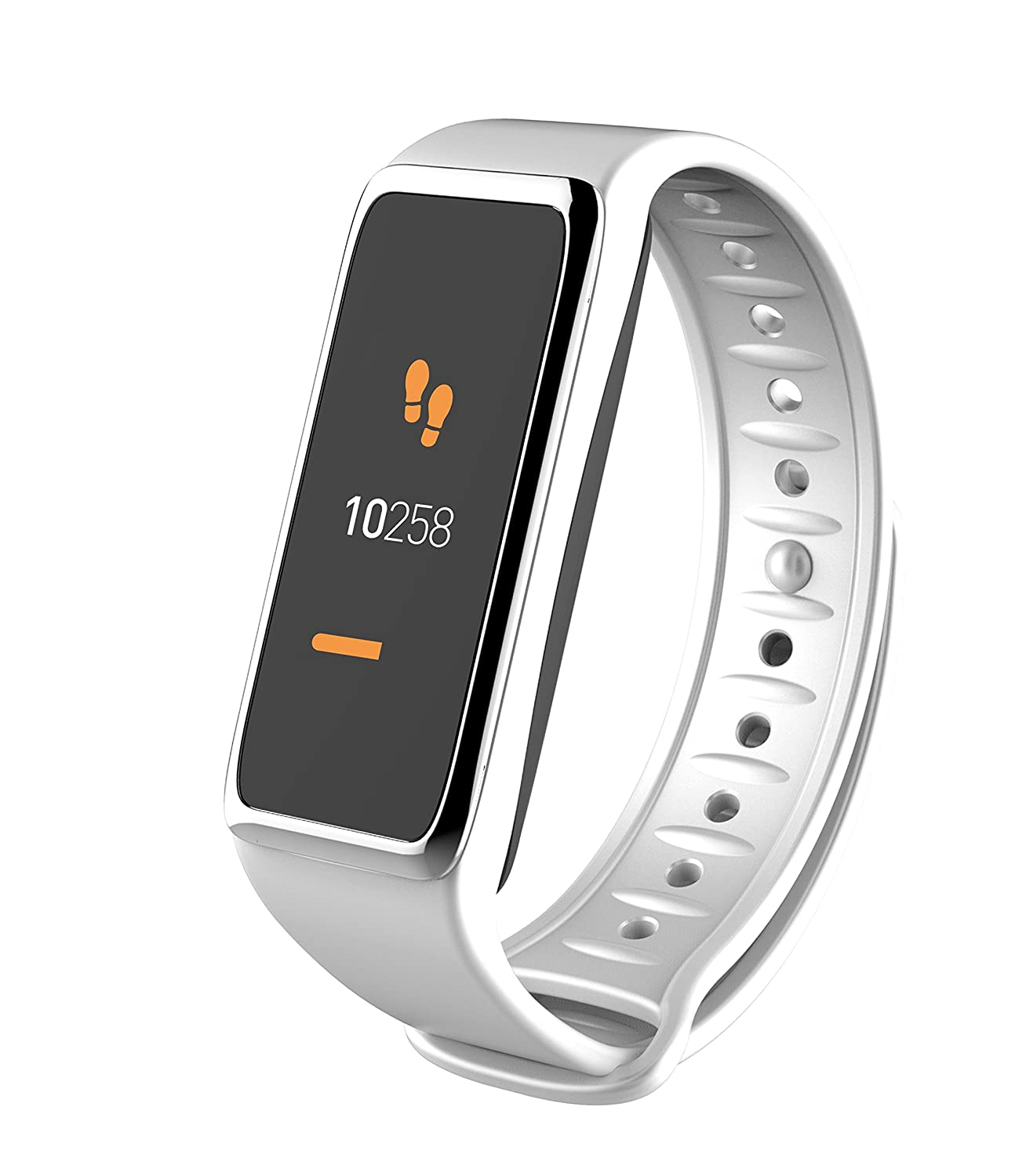 MyKronoz krzefit3 Activity Tracker, White/Silver, Universal ...